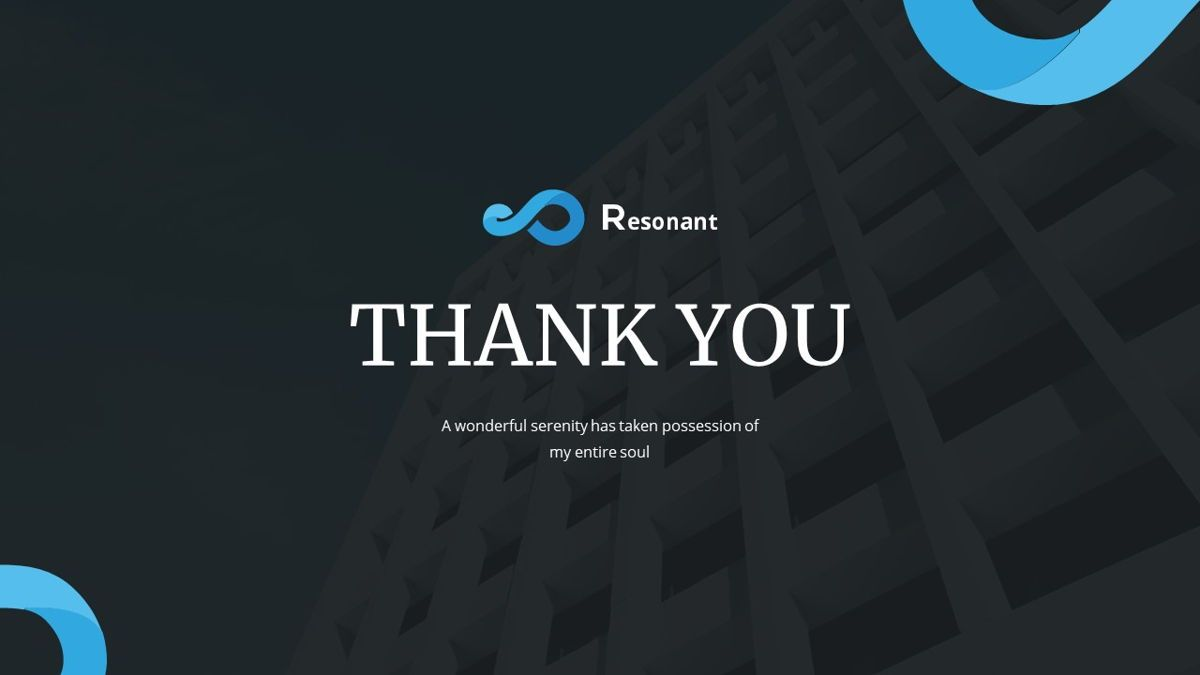 Resonant - Abstract Powerpoint Template, Slide 31, 06442, Data Driven Diagrams and Charts — PoweredTemplate.com