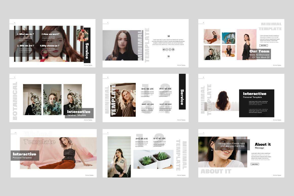 Minimal Powerpoint Template, Slide 3, 06443, Presentation Templates — PoweredTemplate.com
