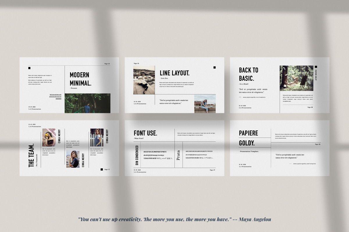 Papiere Goldy Creative Powerpoint, Slide 4, 06446, Presentation Templates — PoweredTemplate.com
