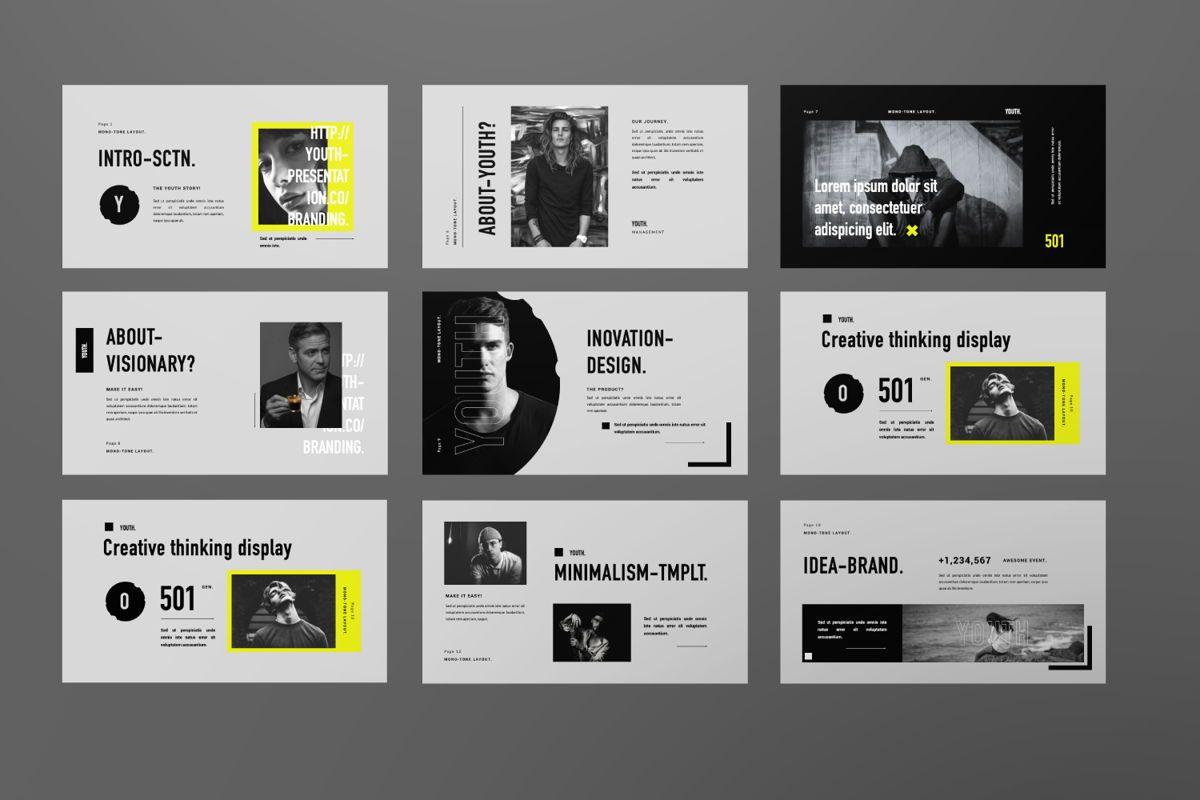 Youth Creative Google Slide, Slide 2, 06449, Presentation Templates — PoweredTemplate.com