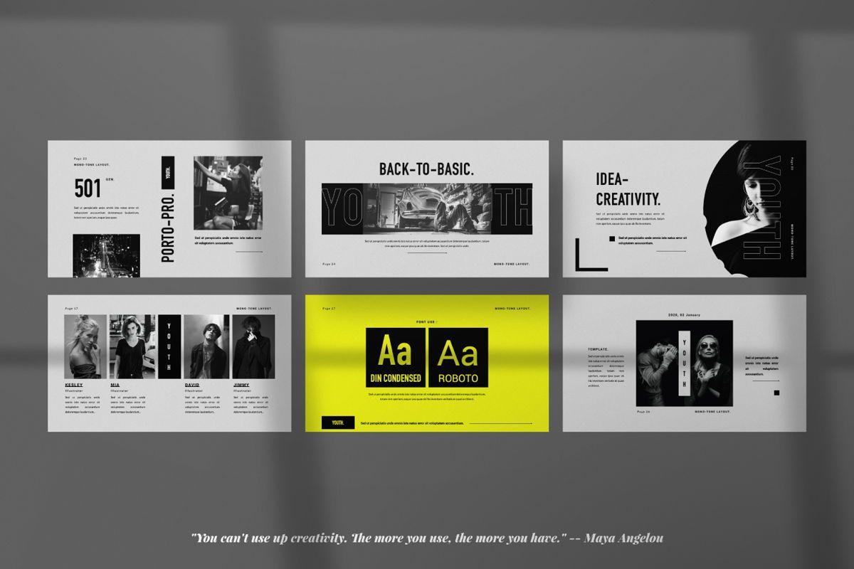 Youth Creative Google Slide, Slide 4, 06449, Presentation Templates — PoweredTemplate.com