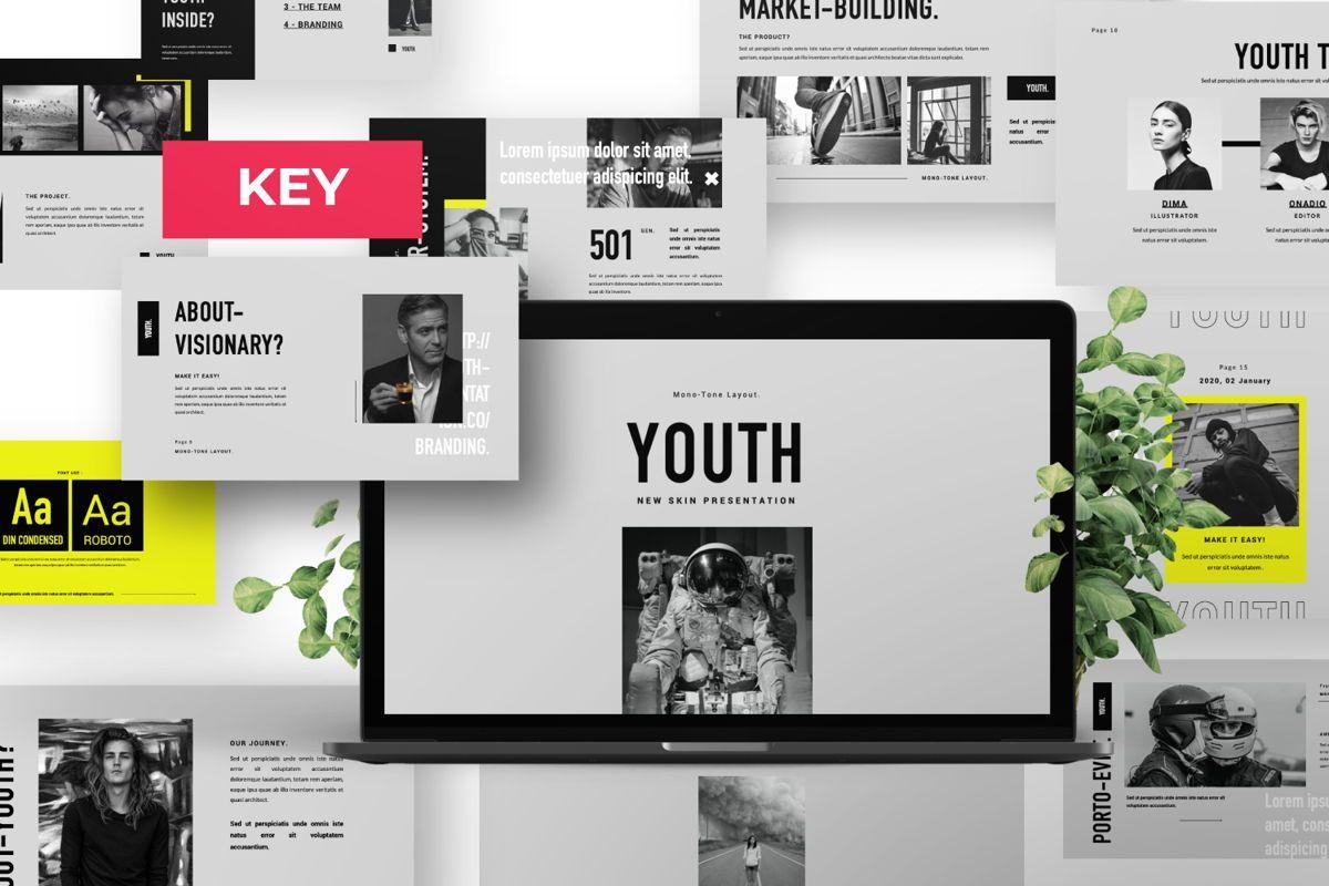 Youth Creative Keynote, 06450, Presentation Templates — PoweredTemplate.com