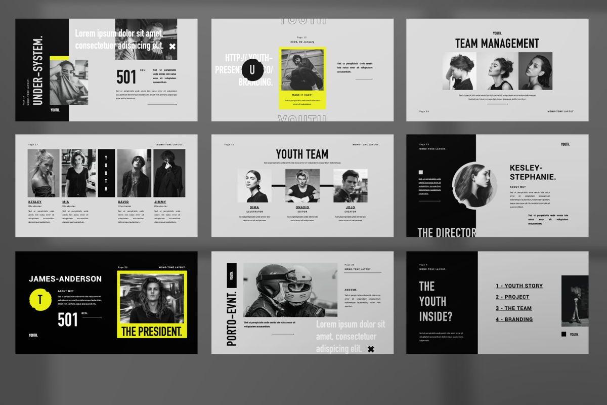 Youth Creative Keynote, Slide 3, 06450, Presentation Templates — PoweredTemplate.com