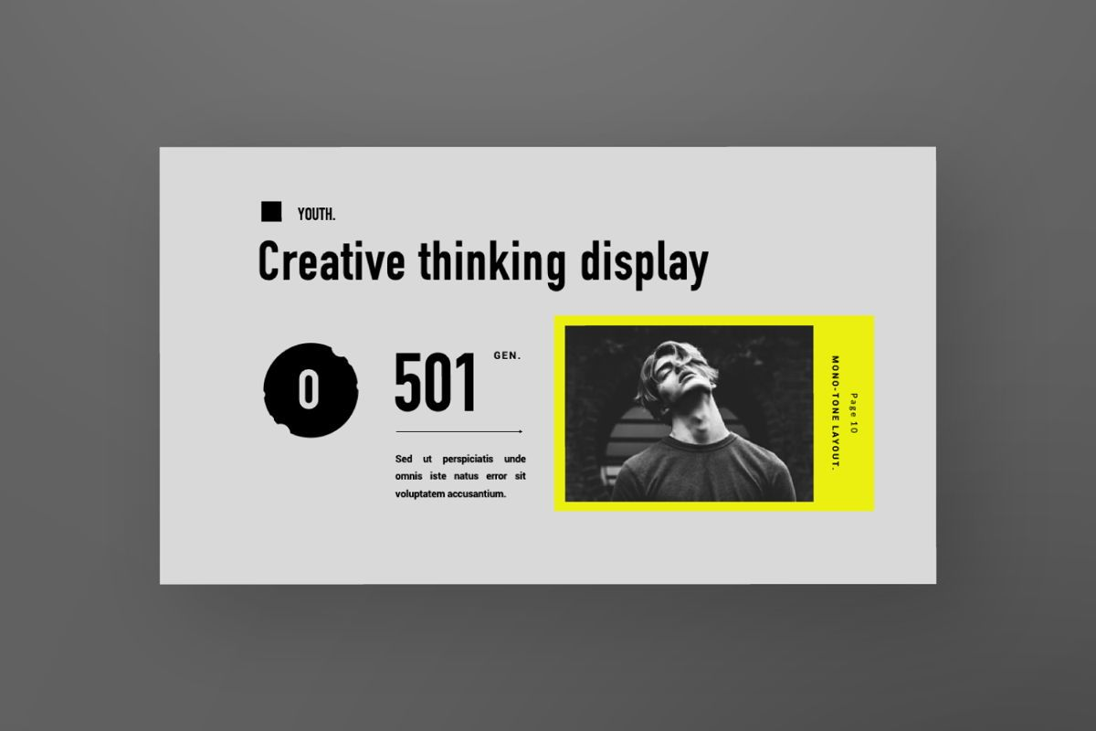 Youth Creative Keynote, Slide 7, 06450, Presentation Templates — PoweredTemplate.com