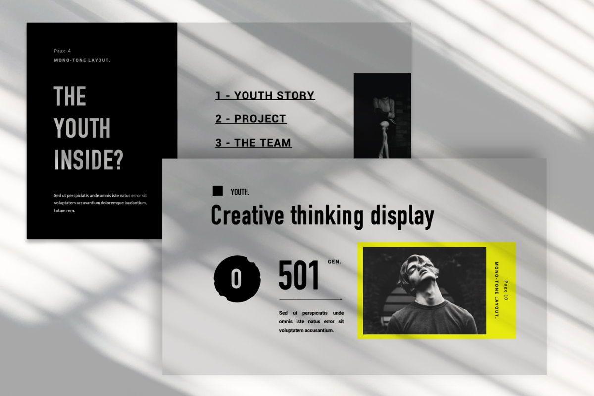 Youth Creative Keynote, Slide 9, 06450, Presentation Templates — PoweredTemplate.com
