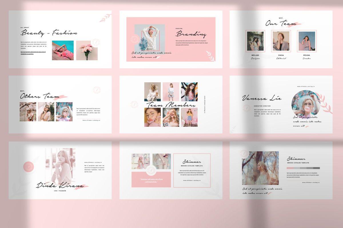 Shimmer Creative Powerpoint, Slide 5, 06452, Presentation Templates — PoweredTemplate.com