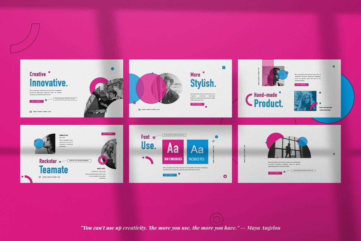 Gummy Dummy Creative Google Slide, Slide 2, 06455, Presentation Templates — PoweredTemplate.com