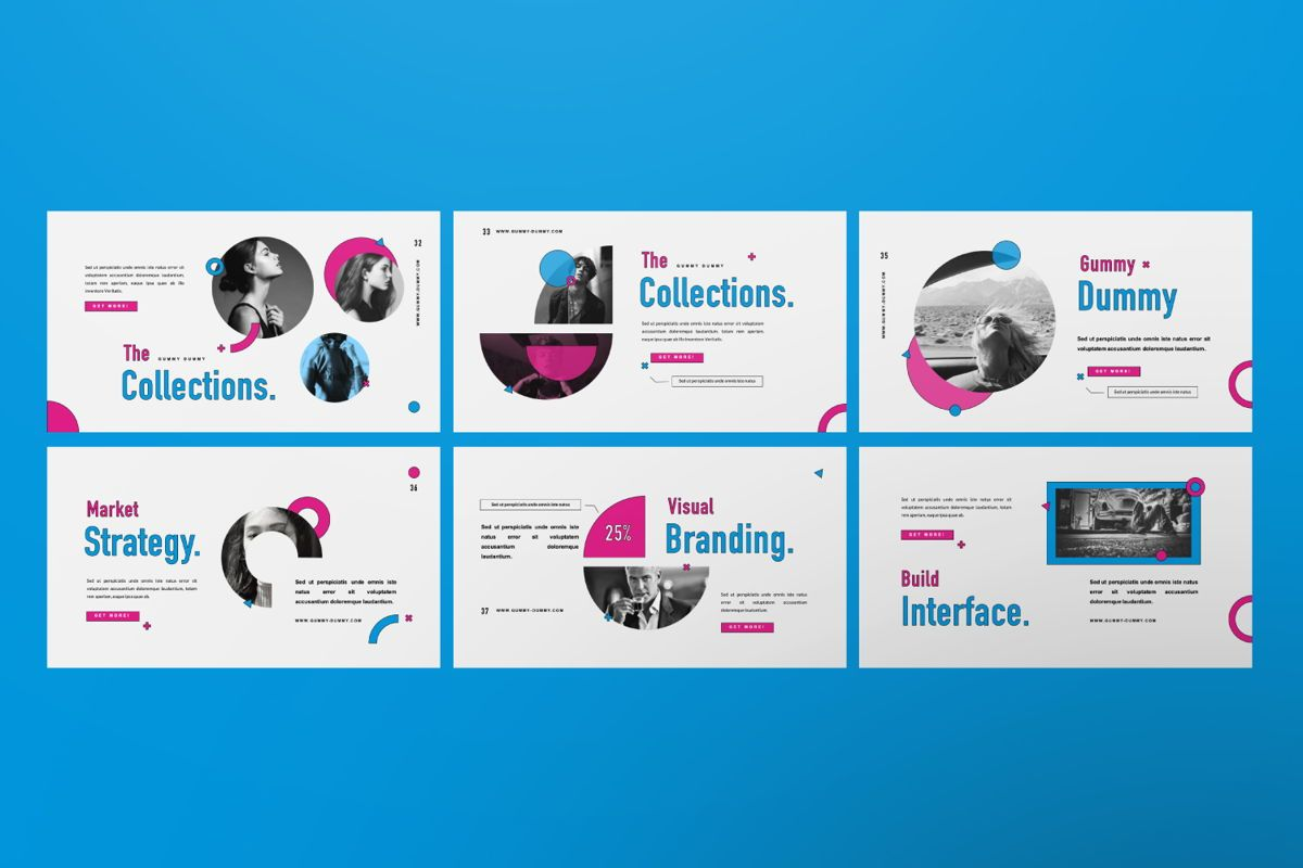 Gummy Dummy Creative Google Slide, Slide 4, 06455, Presentation Templates — PoweredTemplate.com