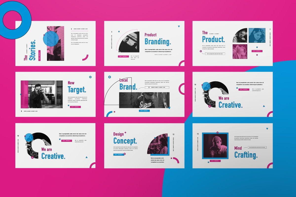 Gummy Dummy Creative Google Slide, Slide 6, 06455, Presentation Templates — PoweredTemplate.com