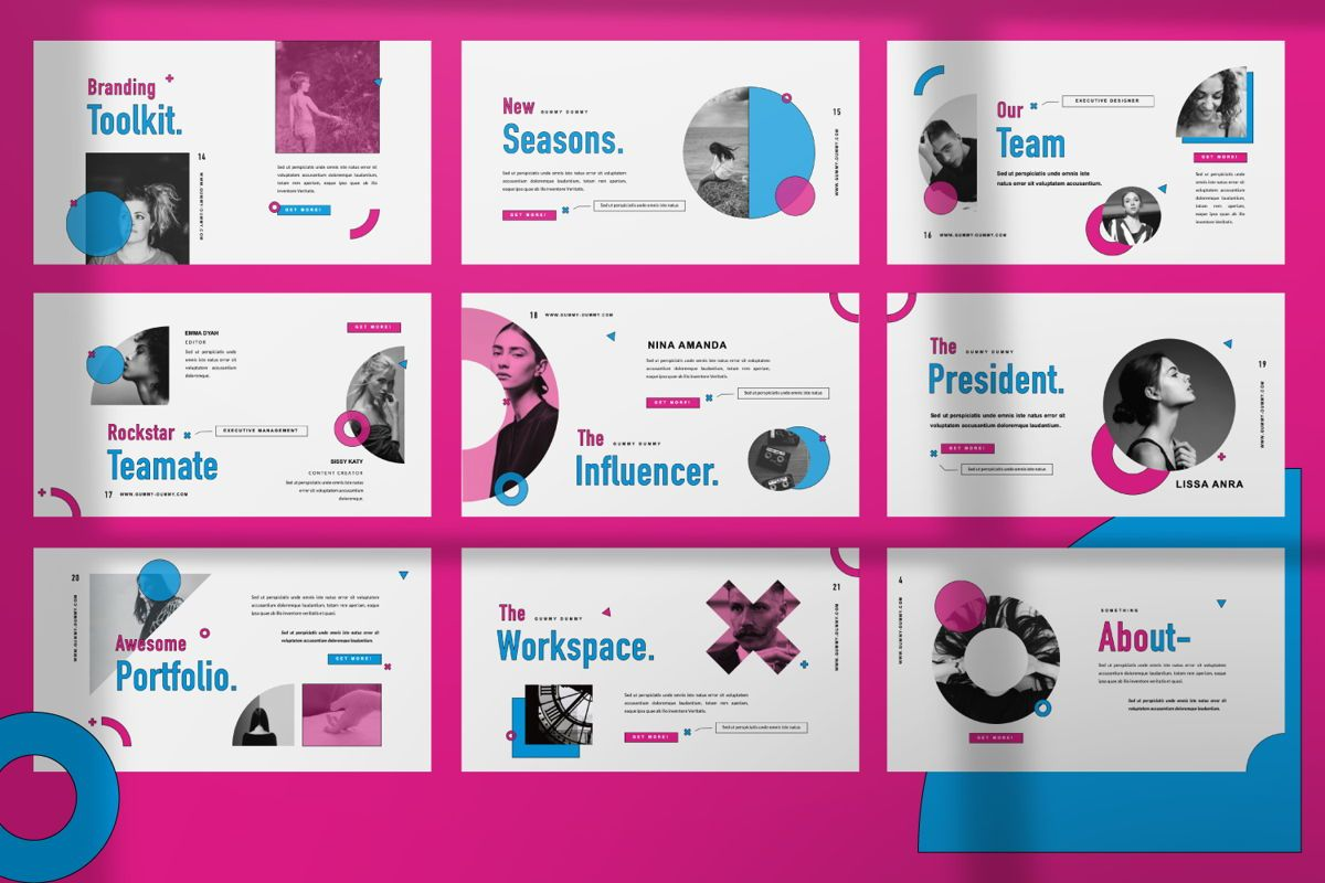 Gummy Dummy Creative Keynote, Slide 5, 06456, Presentation Templates — PoweredTemplate.com