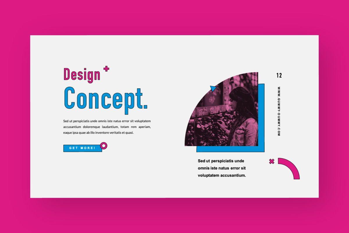 Gummy Dummy Creative Keynote, Slide 8, 06456, Presentation Templates — PoweredTemplate.com