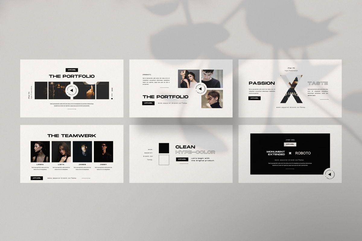 Apparel Business Keynote, Slide 3, 06459, Presentation Templates — PoweredTemplate.com