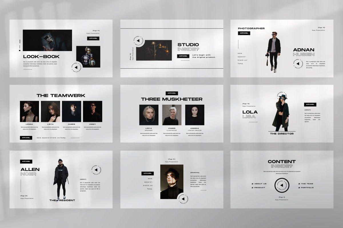 Apparel Business Keynote, Slide 4, 06459, Presentation Templates — PoweredTemplate.com