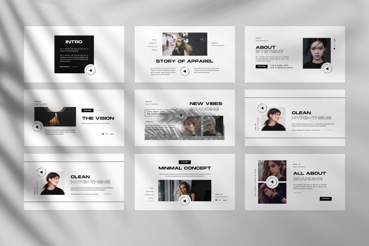 Apparel Business Google Slide, Slide 5, 06460, Presentation Templates — PoweredTemplate.com