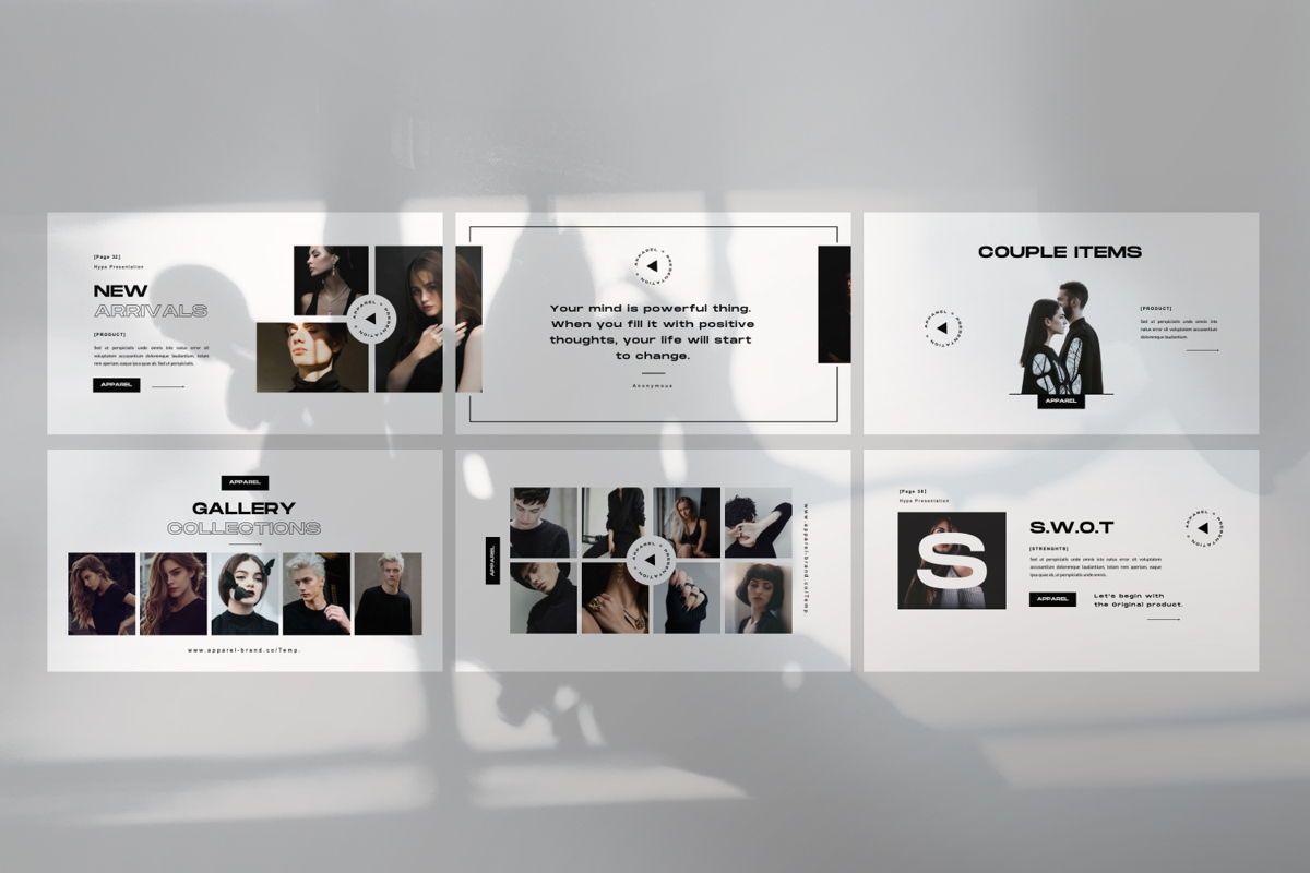 Apparel Business Google Slide, Slide 7, 06460, Presentation Templates — PoweredTemplate.com
