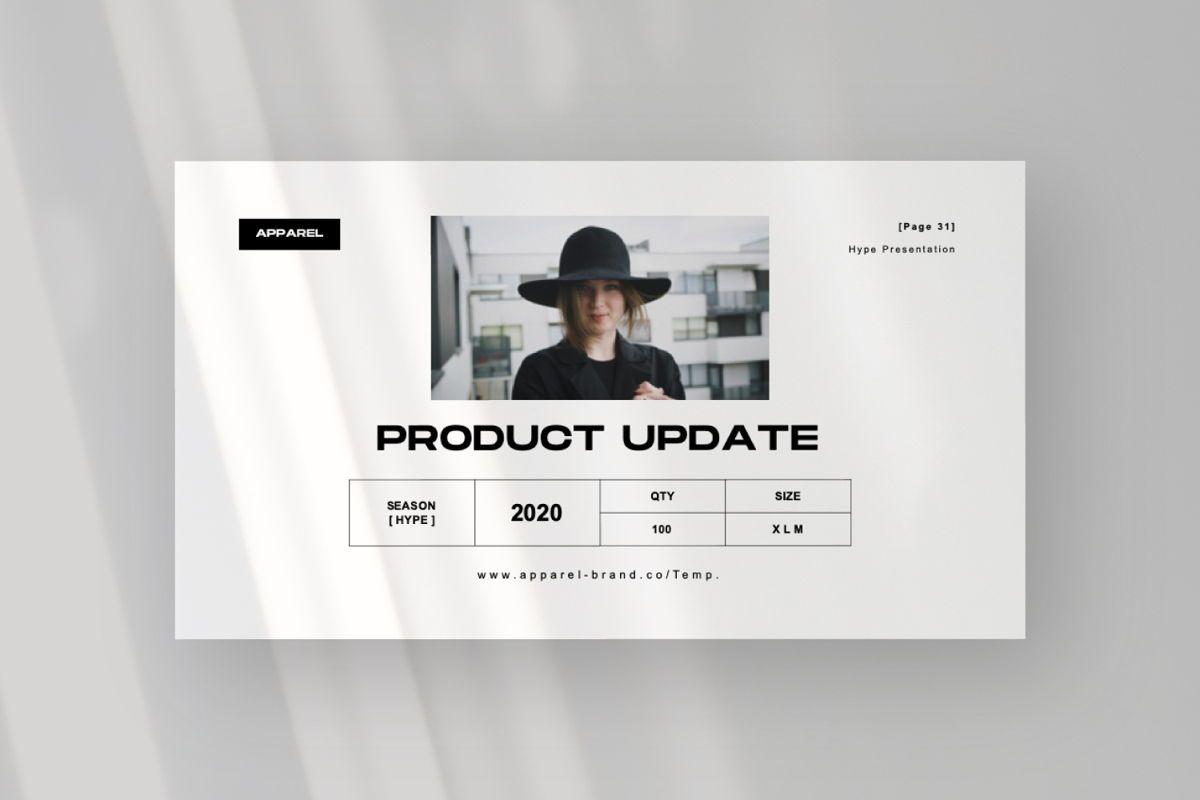 Apparel Business Google Slide, Slide 8, 06460, Presentation Templates — PoweredTemplate.com