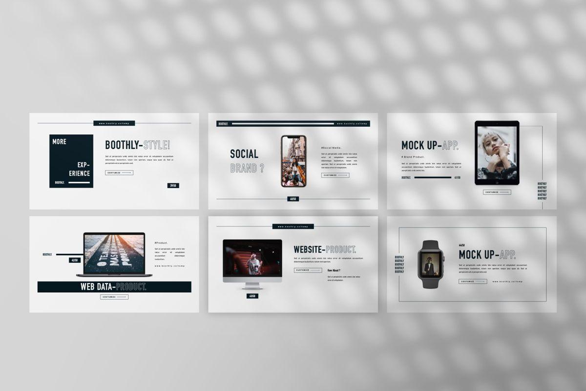 Boothly Creative Google Slide, Slide 3, 06461, Presentation Templates — PoweredTemplate.com