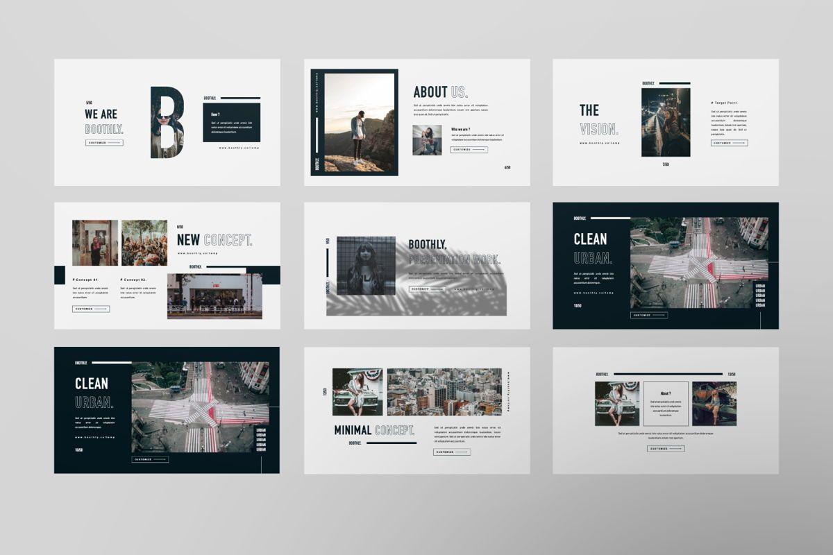 Boothly Creative Powerpoint, Slide 6, 06463, Presentation Templates — PoweredTemplate.com