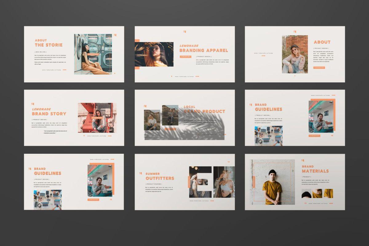 Lemonade Creative Powerpoint, Slide 5, 06464, Presentation Templates — PoweredTemplate.com