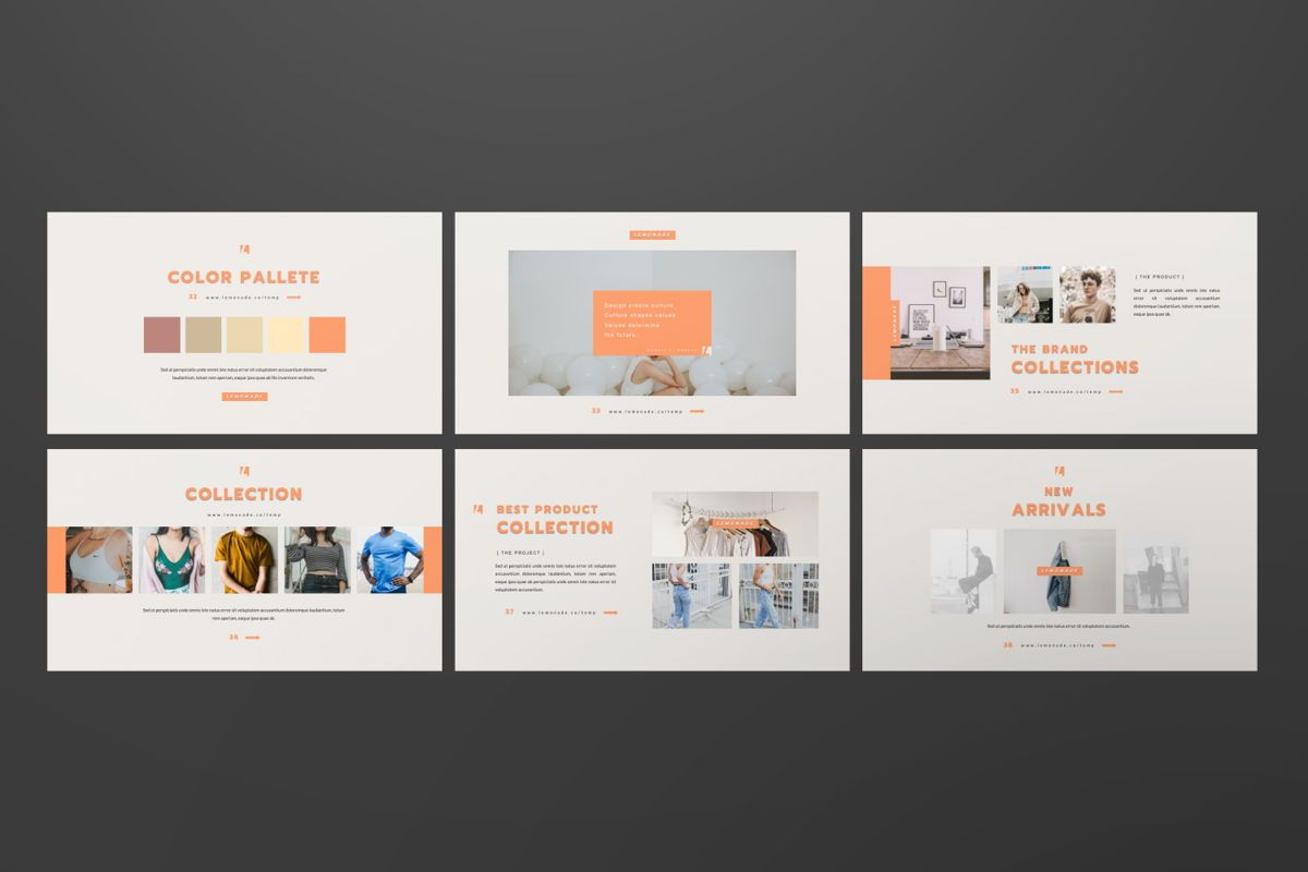 Lemonade Creative Google Slide, Slide 7, 06466, Presentation Templates — PoweredTemplate.com
