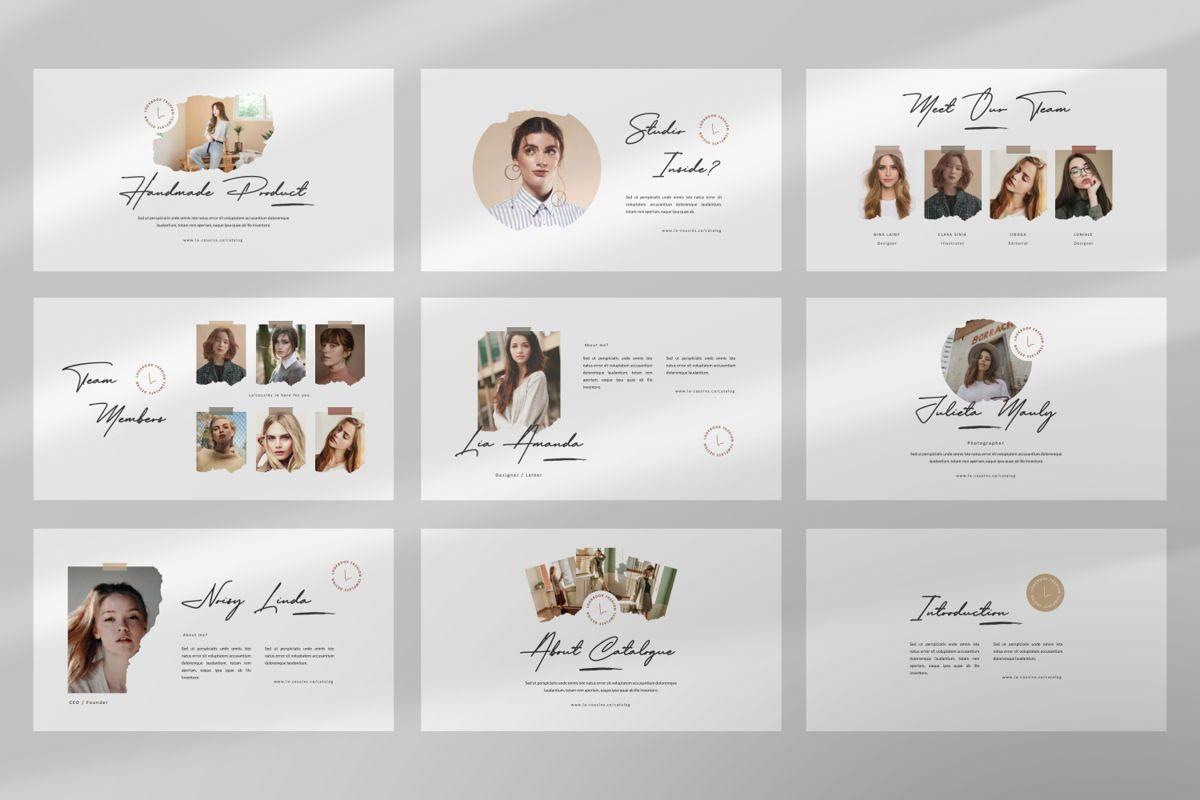 La'Cousins Creative Powerpoint, Slide 3, 06467, Presentation Templates — PoweredTemplate.com