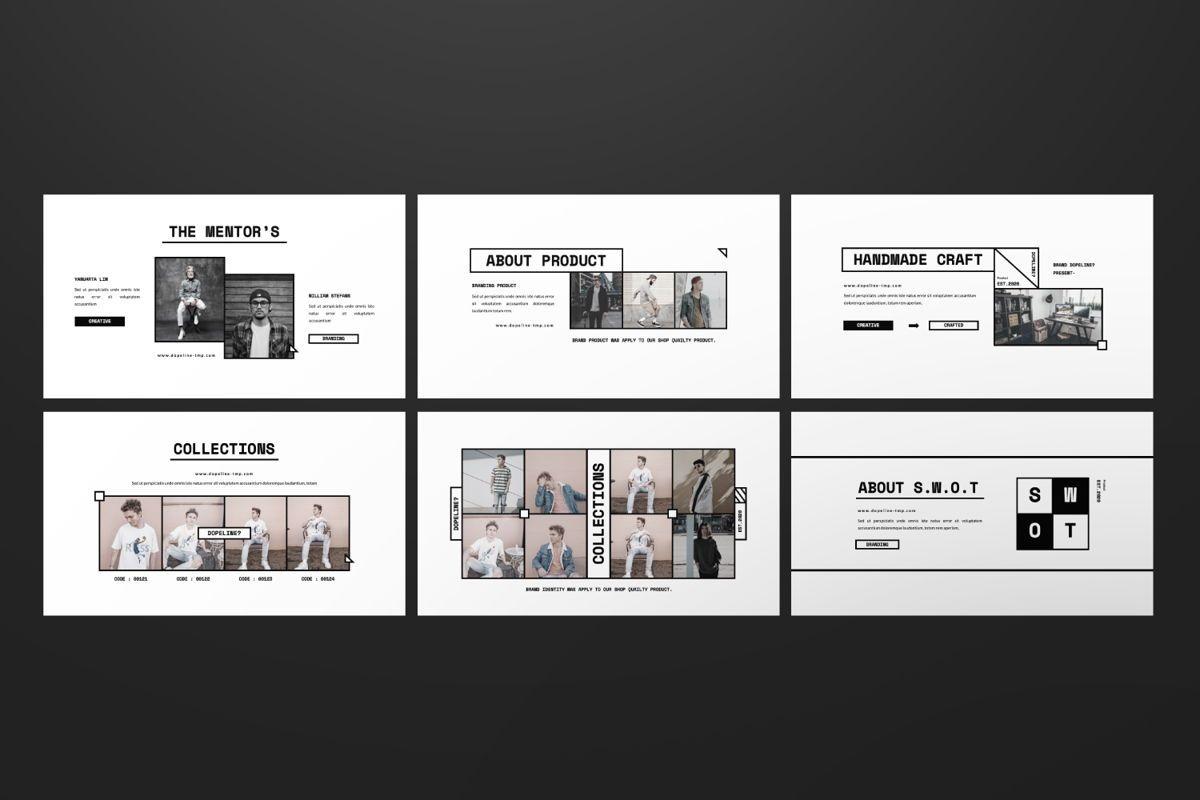 Dopeline Creative Google Slide, Slide 6, 06470, Presentation Templates — PoweredTemplate.com