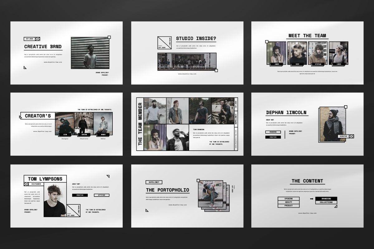 Dopeline Creative Powerpoint, Slide 3, 06472, Presentation Templates — PoweredTemplate.com