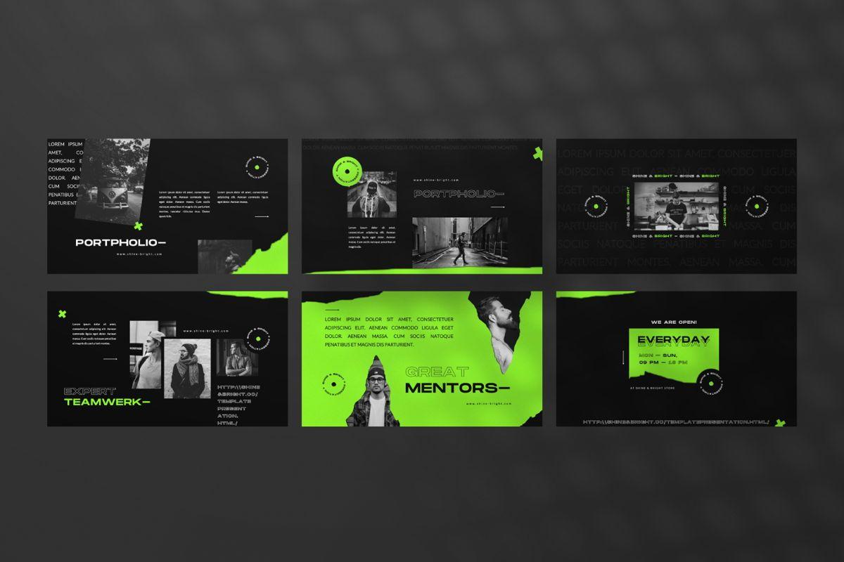 Shine Bright Creative Google Slide, Slide 4, 06473, Presentation Templates — PoweredTemplate.com