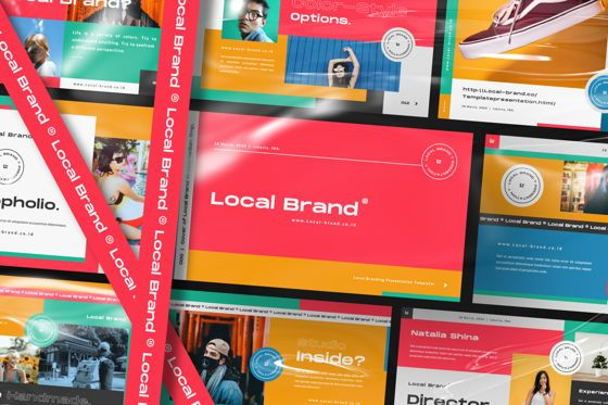 Presentation Templates: Local Creative Brand Google Slide #06475