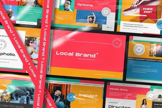 Presentation Templates: Local Creative Brand Powerpoint #06477