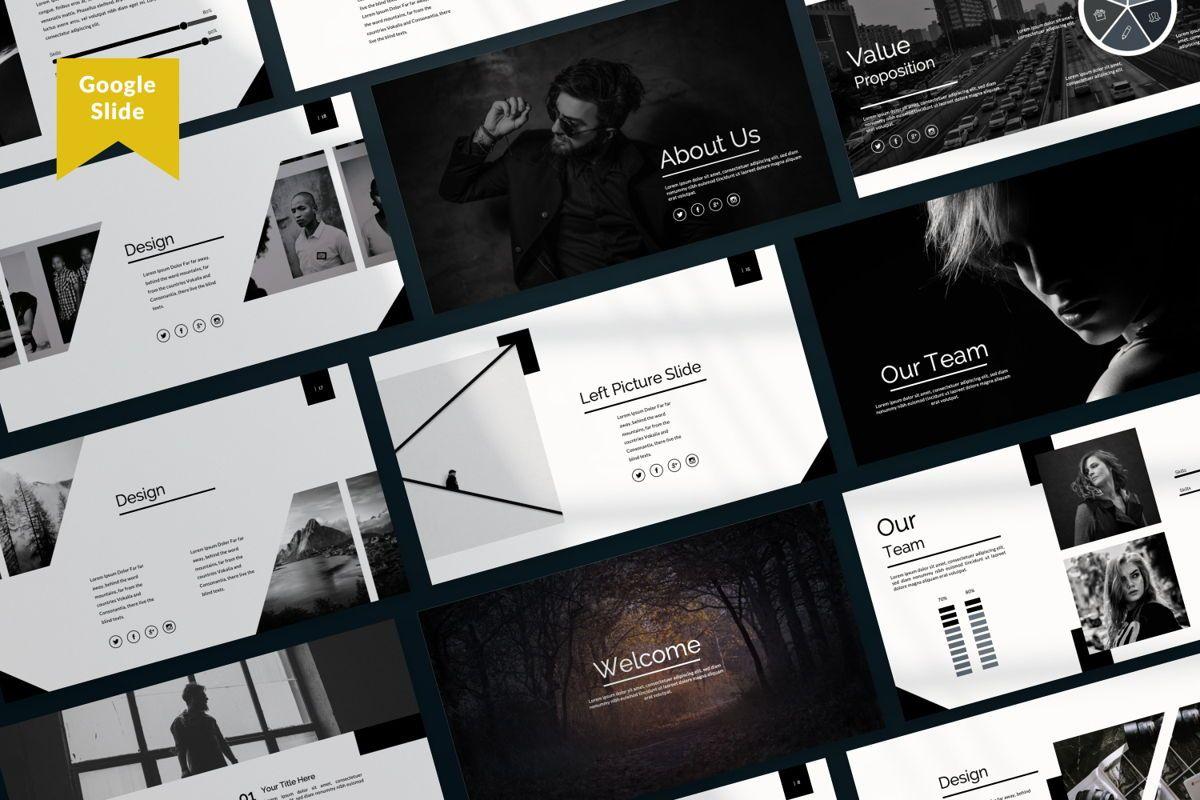 Silent Creative Google Slide, 06480, Presentation Templates — PoweredTemplate.com