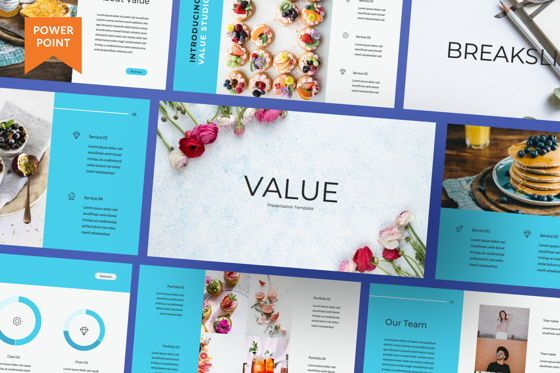Presentation Templates: Value Creative Powerpoint #06481
