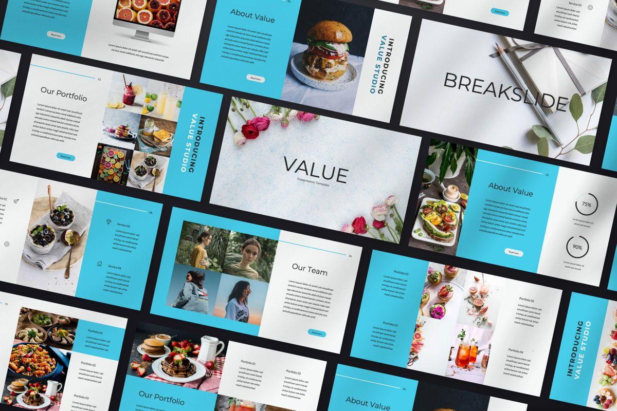 Value Creative Powerpoint, Slide 2, 06481, Presentation Templates — PoweredTemplate.com