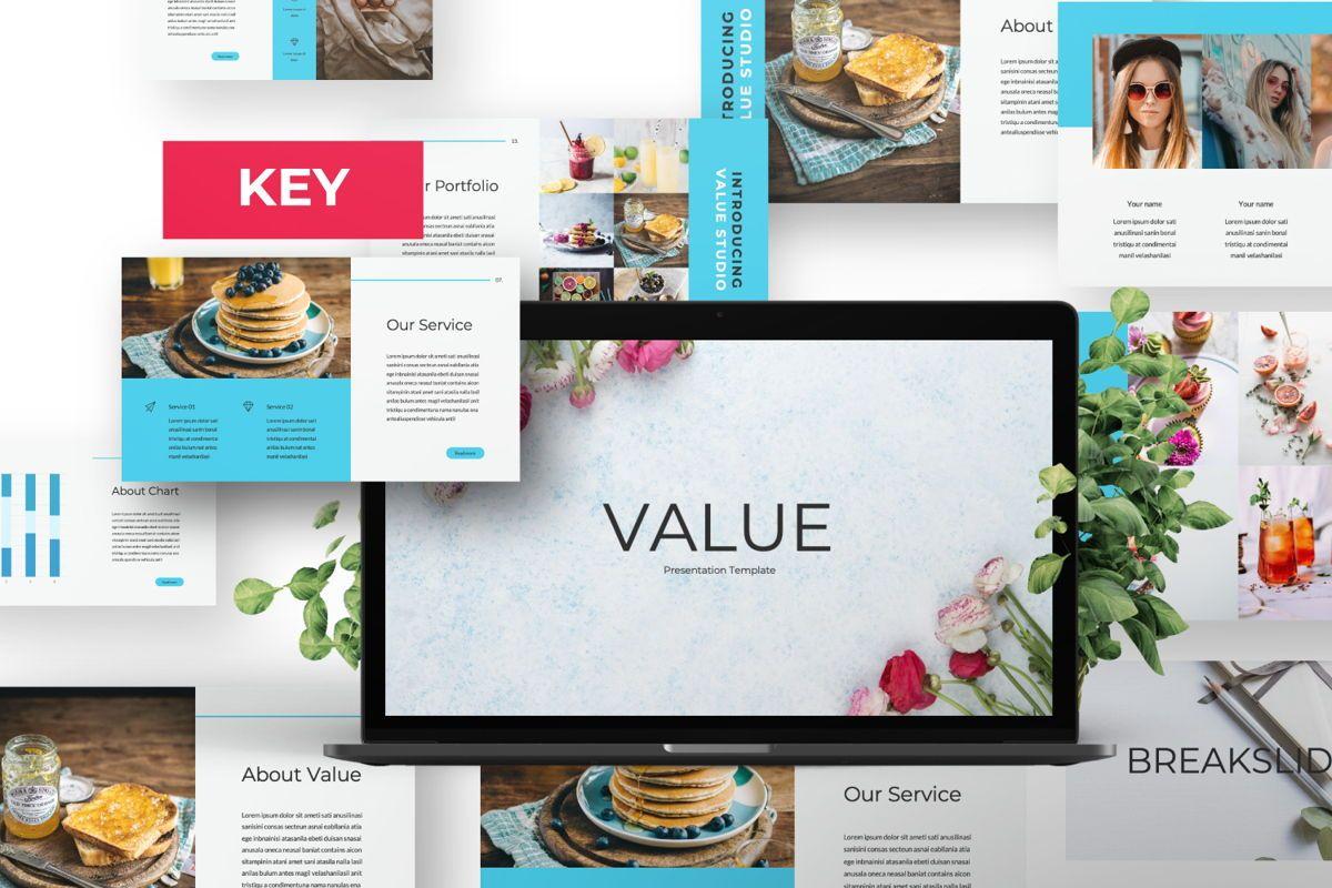 Value Creative Keynote, 06482, Presentation Templates — PoweredTemplate.com