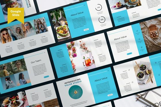 Presentation Templates: Value Creative Google Slide #06483