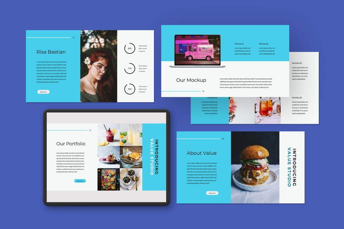 Value Creative Google Slide, Slide 3, 06483, Presentation Templates — PoweredTemplate.com