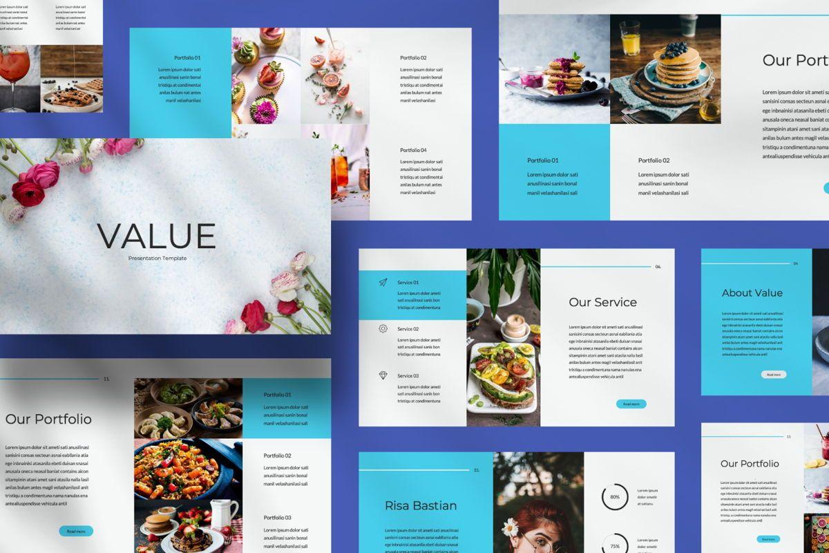 Value Creative Google Slide, Slide 4, 06483, Presentation Templates — PoweredTemplate.com