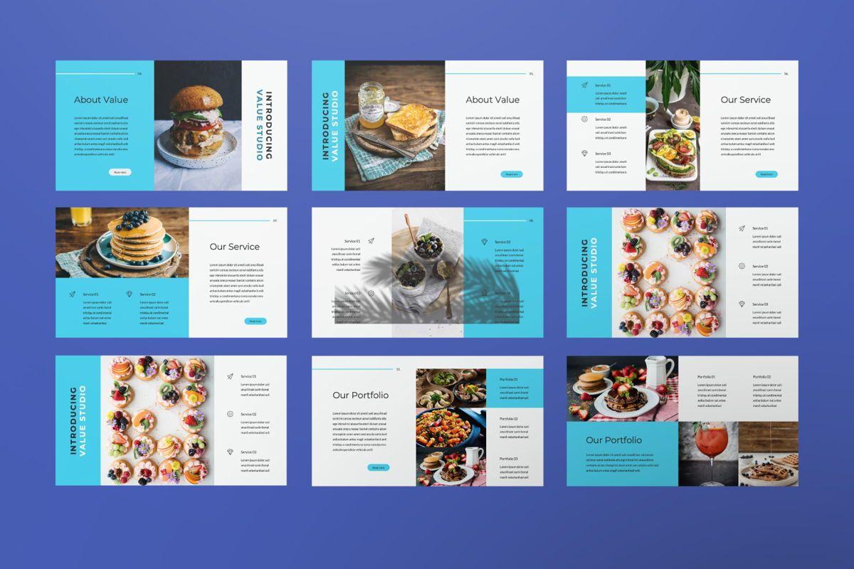 Value Creative Google Slide, Slide 6, 06483, Presentation Templates — PoweredTemplate.com