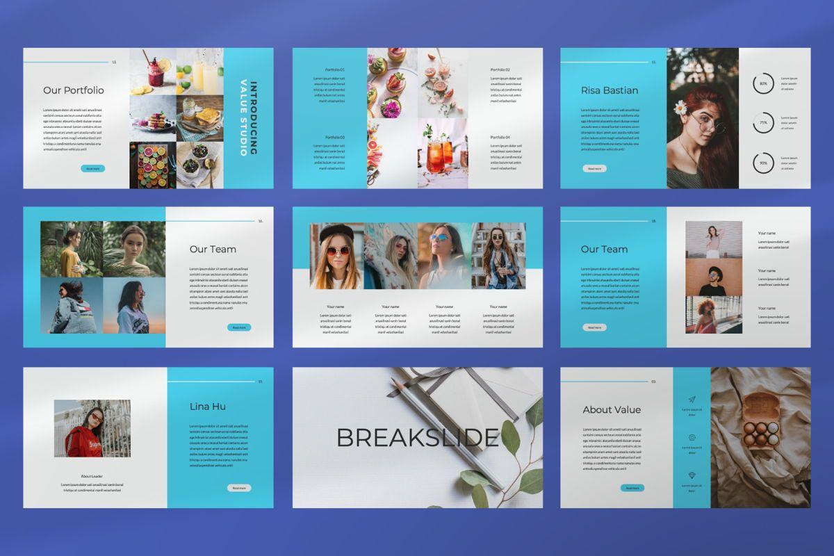 Value Creative Google Slide, Slide 7, 06483, Presentation Templates — PoweredTemplate.com