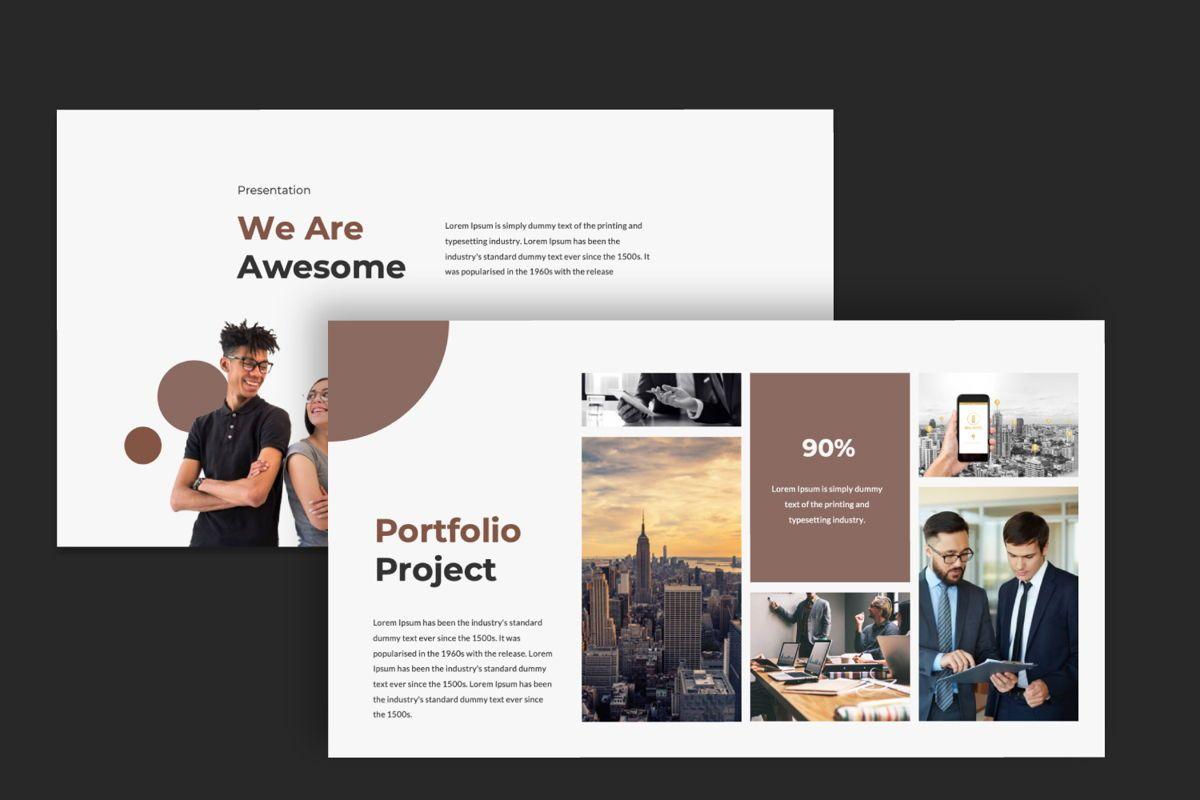 Dots Creative Powerpoint, Slide 6, 06484, Presentation Templates — PoweredTemplate.com