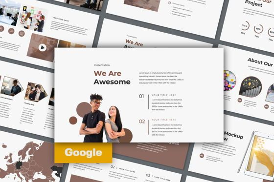 Presentation Templates: Dots Creative Google Slide #06486