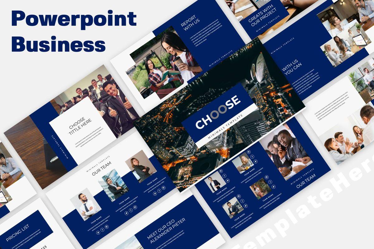 Choose Creative Powerpoint, 06487, Presentation Templates — PoweredTemplate.com