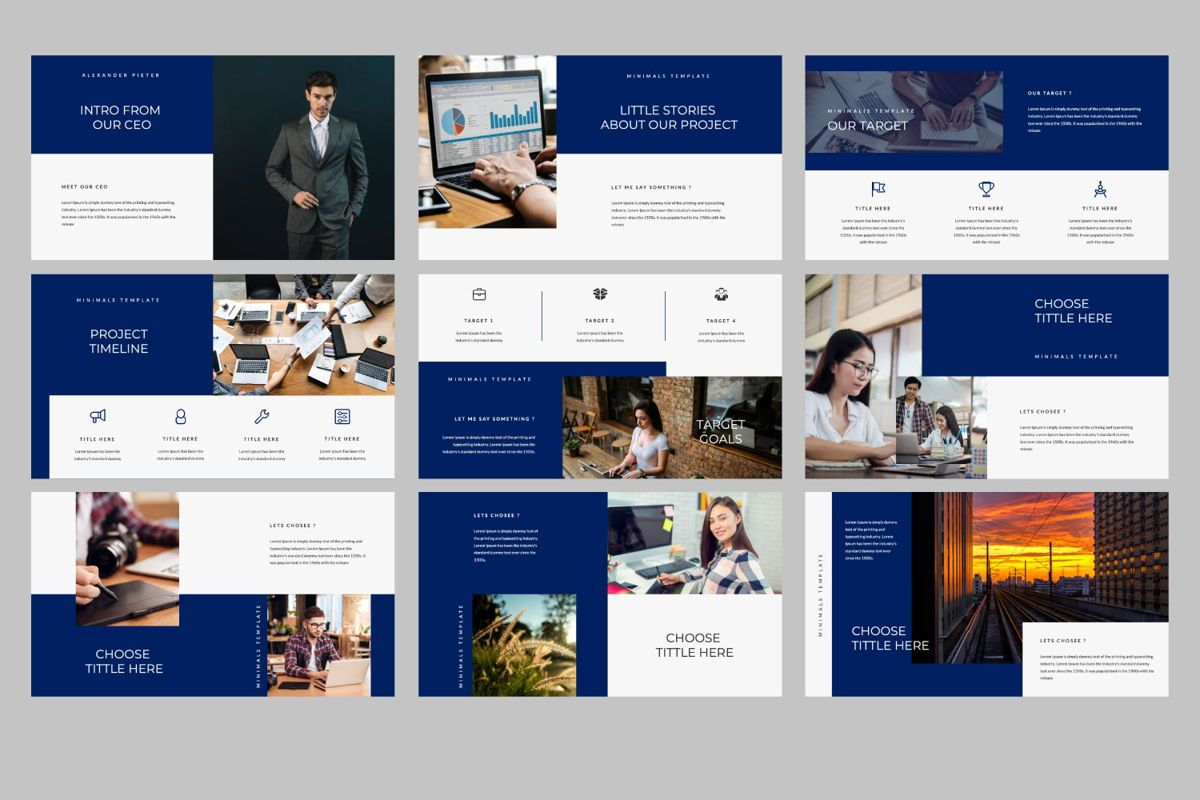 Choose Creative Keynote, Slide 2, 06488, Presentation Templates — PoweredTemplate.com