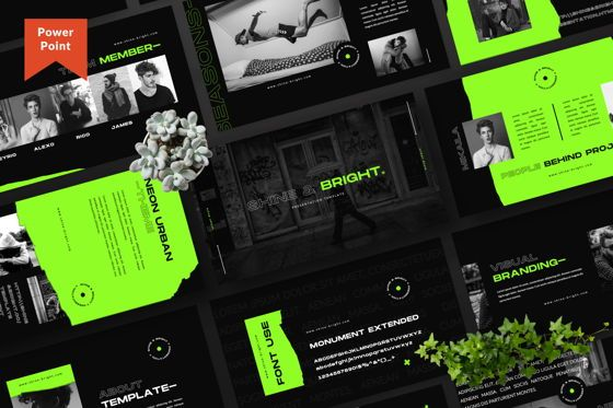 Presentation Templates: Shine Bright Creative Powerpoint #06490