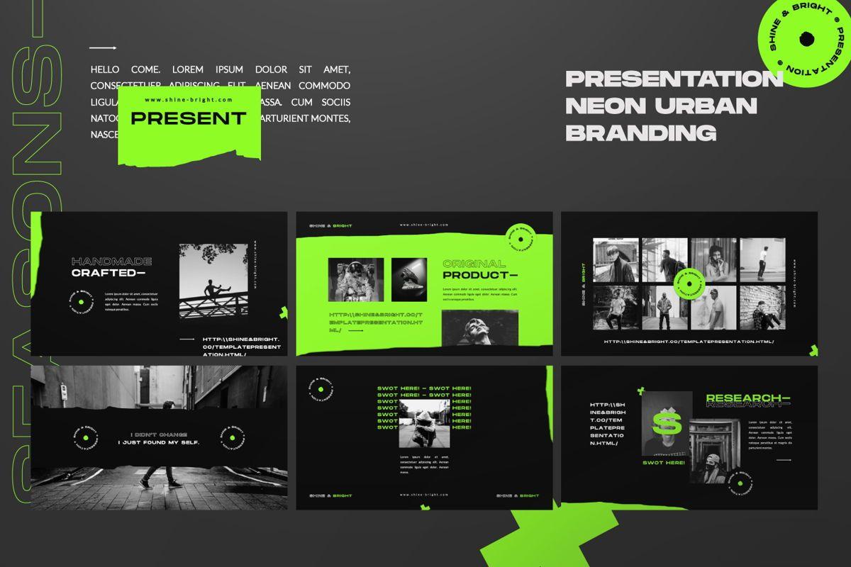 Shine Bright Creative Powerpoint, Slide 6, 06490, Presentation Templates — PoweredTemplate.com