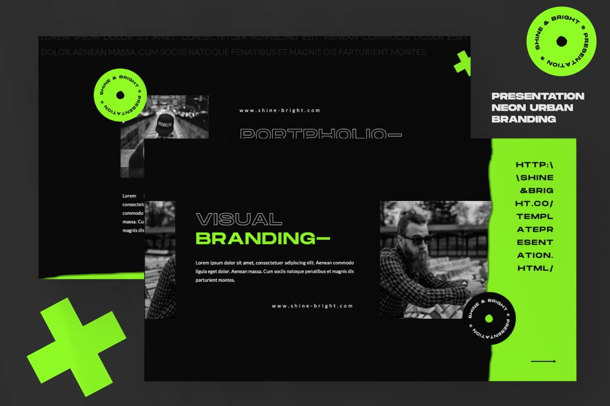 Shine Bright Creative Powerpoint, Slide 7, 06490, Presentation Templates — PoweredTemplate.com