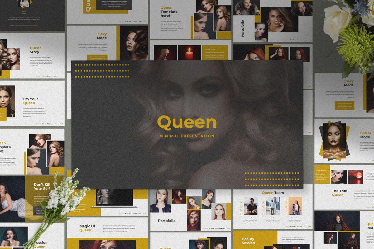 Queen Creative Google Slide, Slide 5, 06491, Presentation Templates — PoweredTemplate.com