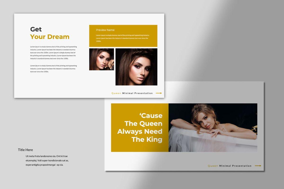 Queen Creative Google Slide, Slide 6, 06491, Presentation Templates — PoweredTemplate.com