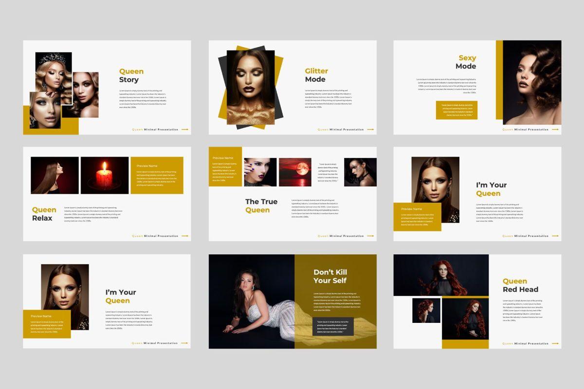 Queen Creative Powerpoint, Slide 2, 06493, Presentation Templates — PoweredTemplate.com