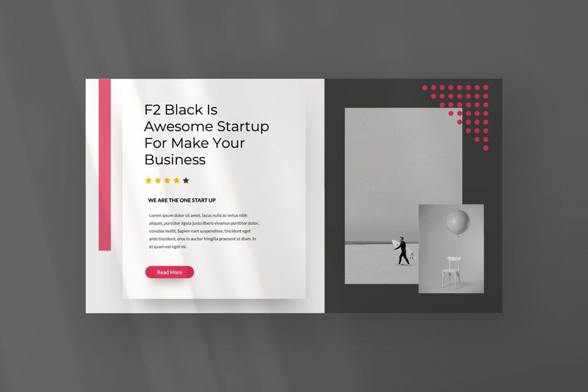 F2 Black Business Powerpoint, Slide 7, 06498, Presentation Templates — PoweredTemplate.com